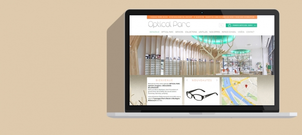 Site Wordpress Optical Parc
