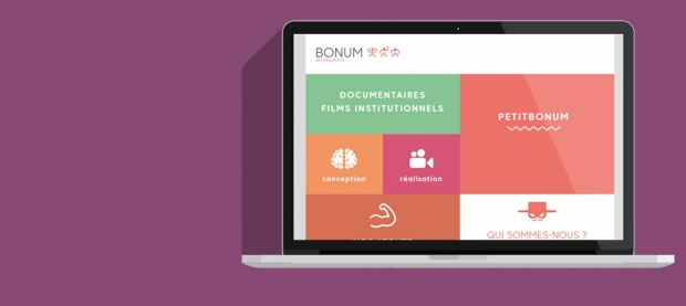 Site Wordpress Bonum Productions